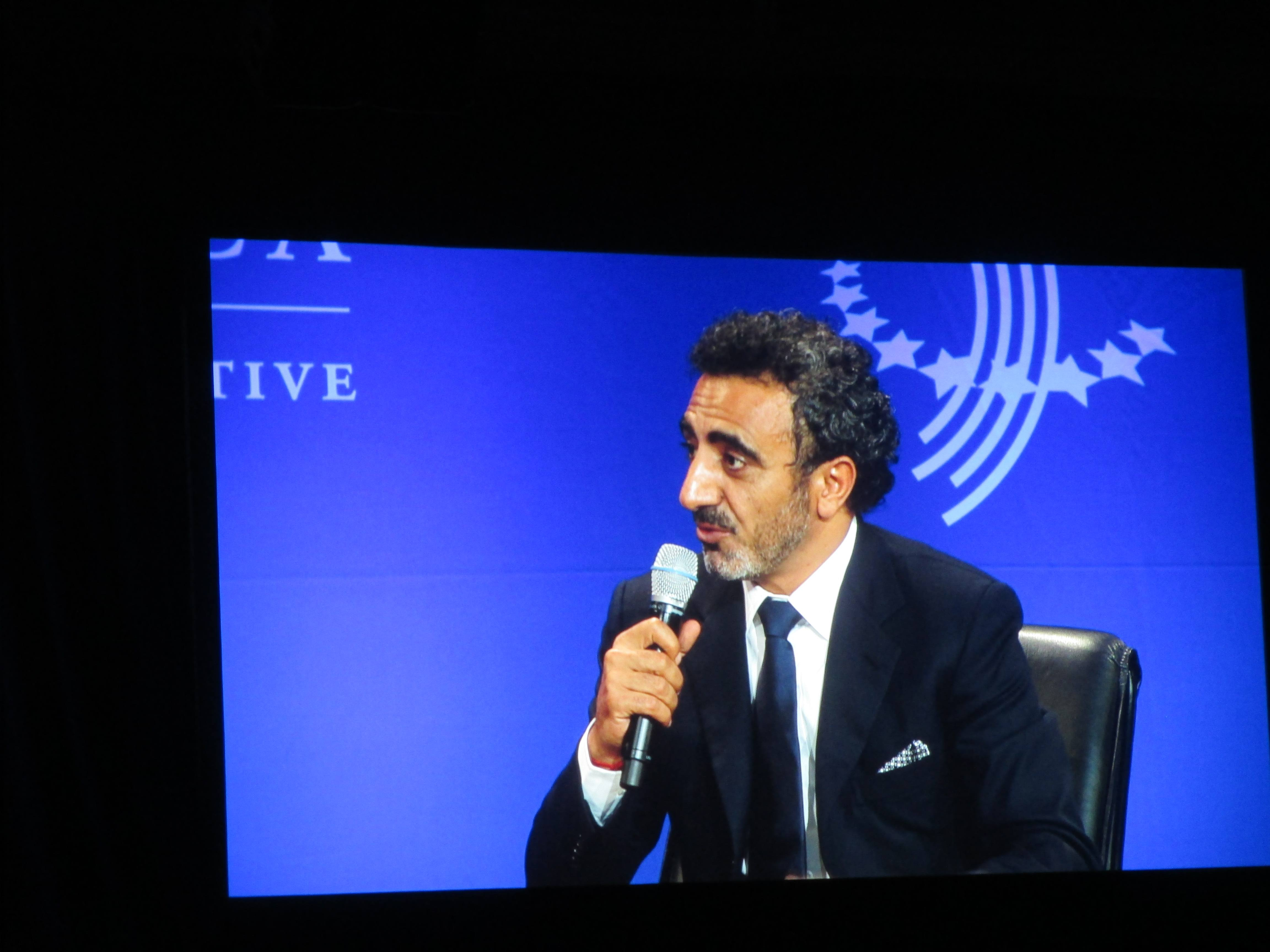 Founder of Chobani Yogurt, Hamdi Ulukaya