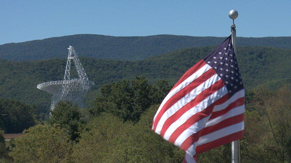 Telescope Flag NS Camp