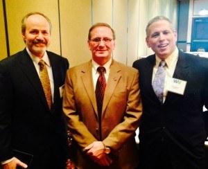 Dr. Mark Bates, Senator Ron Stollings and Doug Baker, OfficeMeds