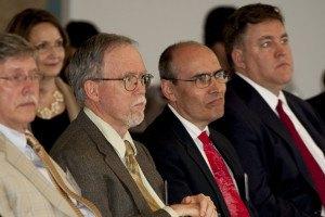 ChemCeption event panelists L-R: Jon Pauley, John Sawyer, John Taylor and Speaker Tim Miley