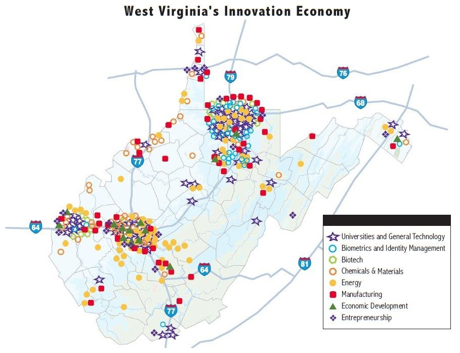 WV Innovation Clusters
