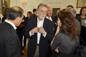 Guy Peduto, INNOVA; Ron Basini, WV Angel Investor Network; Michele O'Connor, WV Jobs Investment Trust.