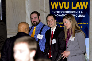 WVU Law Clinic booth