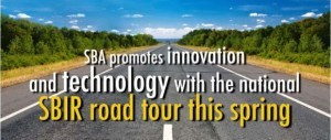 SBIR Road Tour image--of road