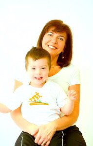 Mighty Tykes Founder Isabella Yosuico and son Isaac
